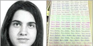 Eva Blanco, a moza asasinada en Madrid en 1997.