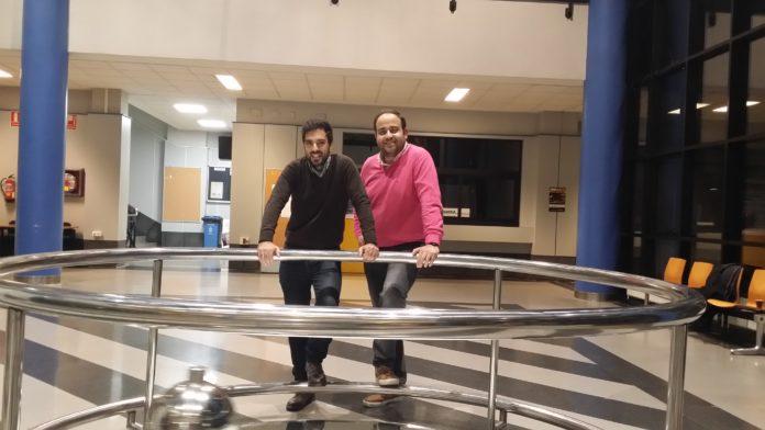 Iago González y Angel Iglesias, los dos socios de DQbito