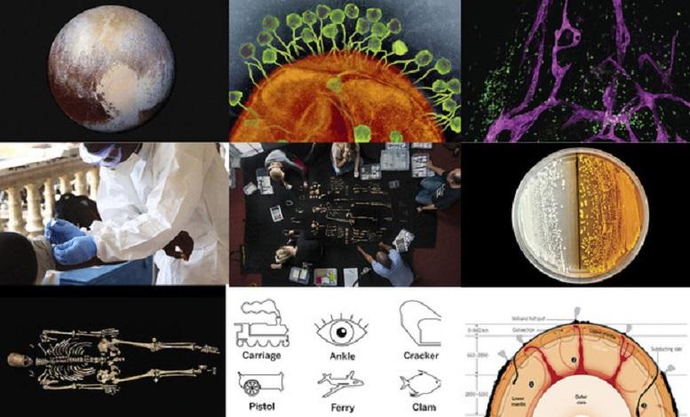 A reviista 'Science' escolleu os 10 descubrimentos do 2015.