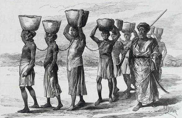Os escravos do Caribe pertencían a Camerún, Nixeria e Ghana.