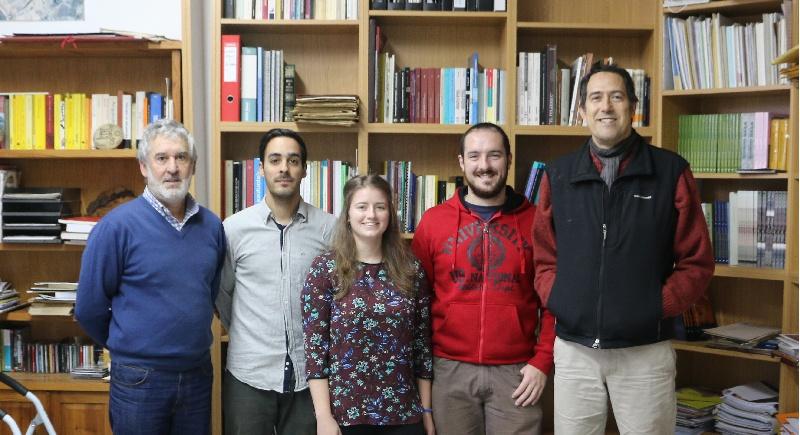 O equipo da Universidade de Santiago encargado do deseño da ferramenta