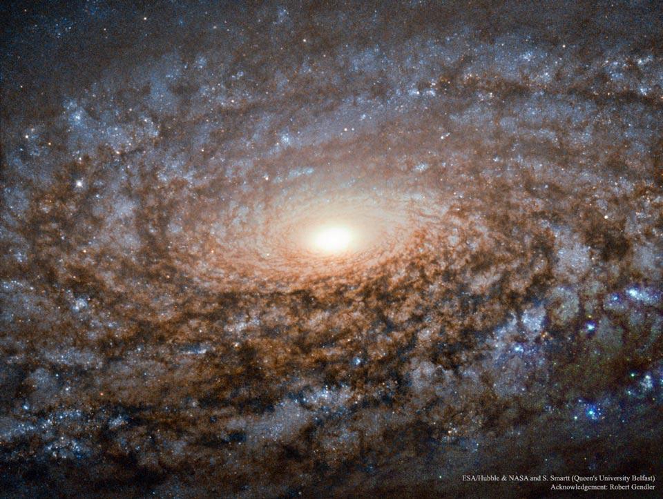 Créditos da imaxe: ESA/Hubble e NASA e S. Smartt (Queen's University Belfast); Agradecementos: Robert Gendler
