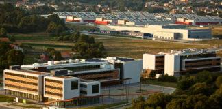 Porto do Molle (Nigrán), onde se construirá o Centro Aeroespacial de Galicia.