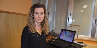 Jennifer Álvarez, autora da tese doutoral.