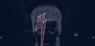 A constelación creada en homenaxe a Bowie.