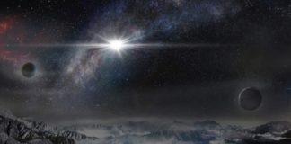 Recreación da explosión da supernova ASSASSN.