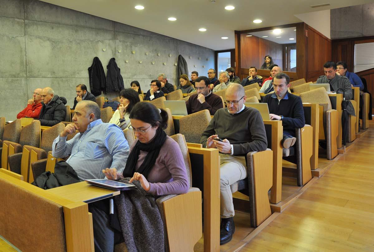 Reunión do Consello de Goberno da Uvigo.