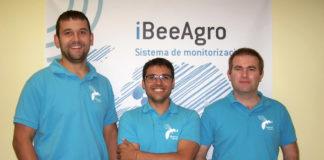 Sergio Eiriz, David Losada e Javier Pesado, creadores de iBeeAgro.
