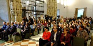 Sesión inaugural de 'Mentoring USC' no Hostal dos Reis Católicos.
