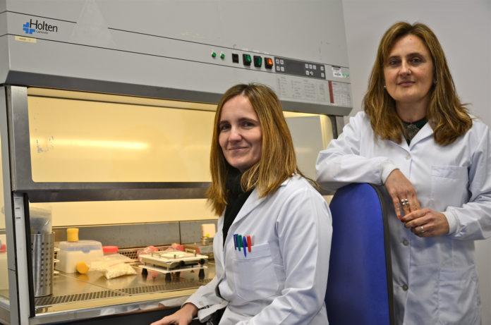Las empresarias Esther y Paula Dagá, creadoras de Bialactis