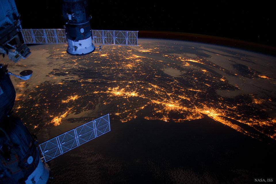 Créditos da imaxe: NASA, Estación Espacial Internacional