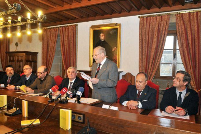 Presentación do libro na Universidade de Santiago.