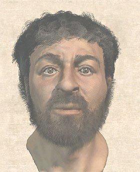 Reconstrución da faciana de Xesús feita por Richard Neave