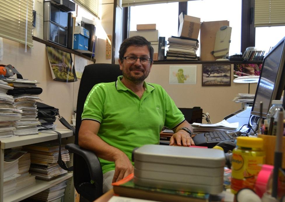 Adolfo Cordero, investigador da UVigo.