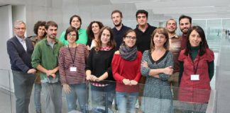 Integrantes do grupo de Oceanografía Biolóxica da UVigo.
