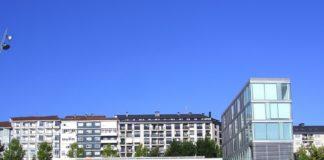 Biblioteca do campus de Ourense da UVigo.