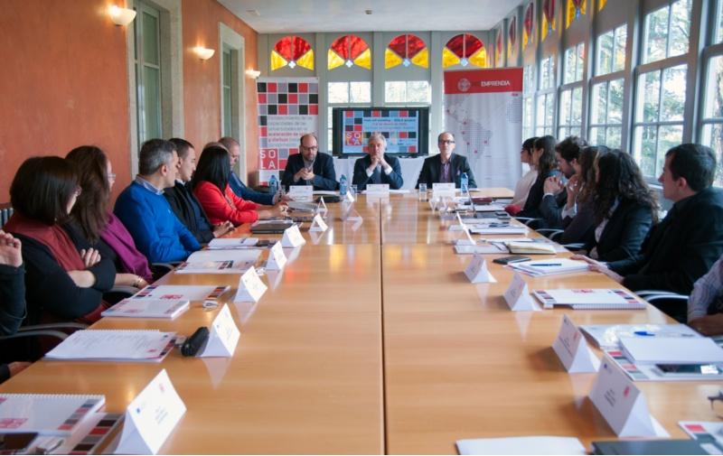 Reunión en Santiago do proxecto SOLA.