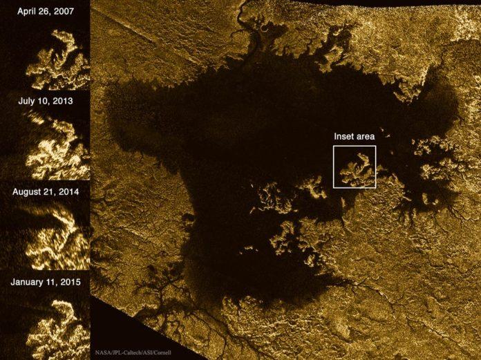 Créditos da imaxe: Cassini Radar Mapper, Cornell, JPL, ESA, NASA