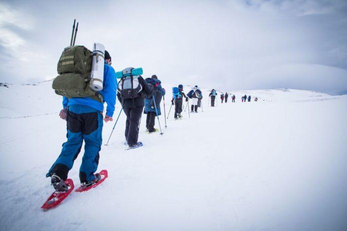 Participantes no Polar Raid.