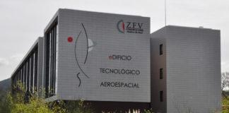 Sede do Centro de Innovación Aeroespacial, inaugurado en Porto do Molle (Nigrán).