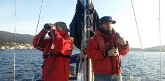 """O proxecto da CEMMA a bordo """"Bahía de Nergha"""" trata de contabilizar os arroaces das rías de Vigo e Arousa."""
