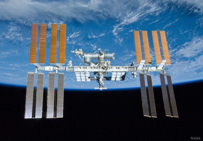Créditos da imaxe: tripulación STS-132, tripulación da expedición 23, NASA.