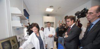 Inauguración do centro mixto de investigación no hospital Gil Casares.