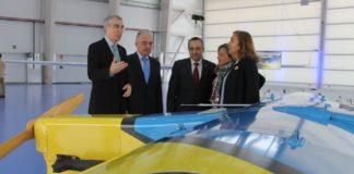 El conselleiro Francisco Conde visitó Rozas en el mes de abril junto a la Secretaria de Estado de Investigación, Desarrollo e Innovación, Carmen Vela, y el director del INTA, Ignacio Azqueta.