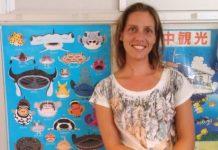 A investigadora Iria Fernández, da UVigo.