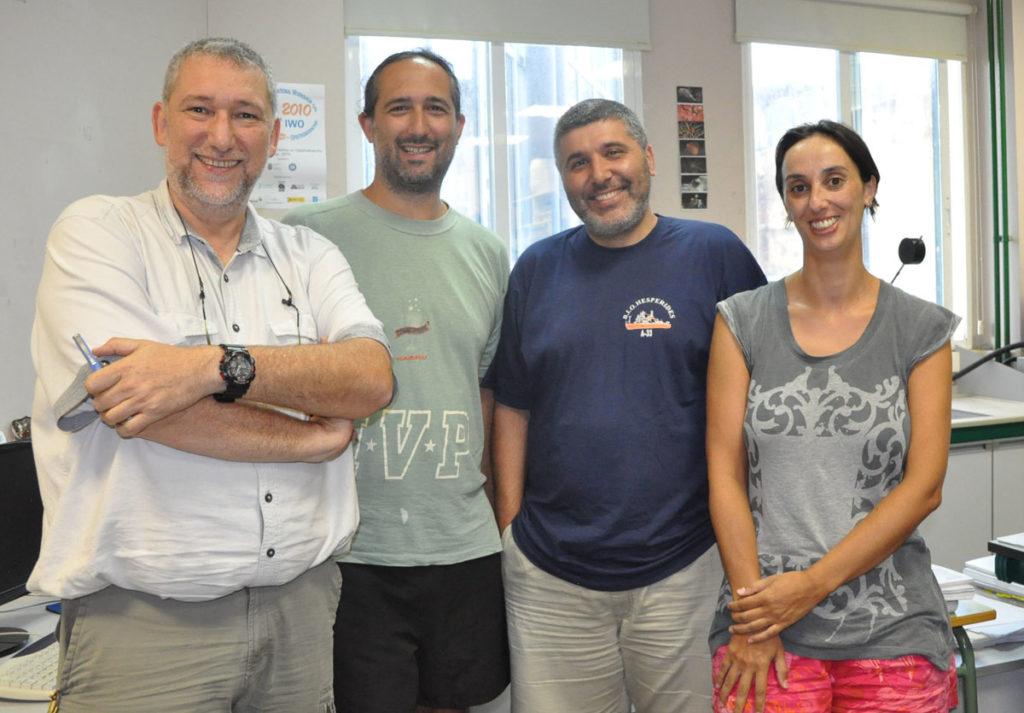 Jesús Souza, Marcos Rubal, Juan Moreira e Puri Veiga.