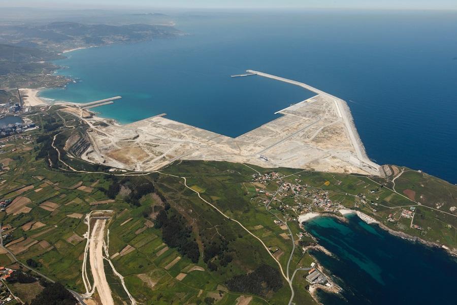 Punta Langosteira, onde se instalarán os xeradores creados pola UVigo.