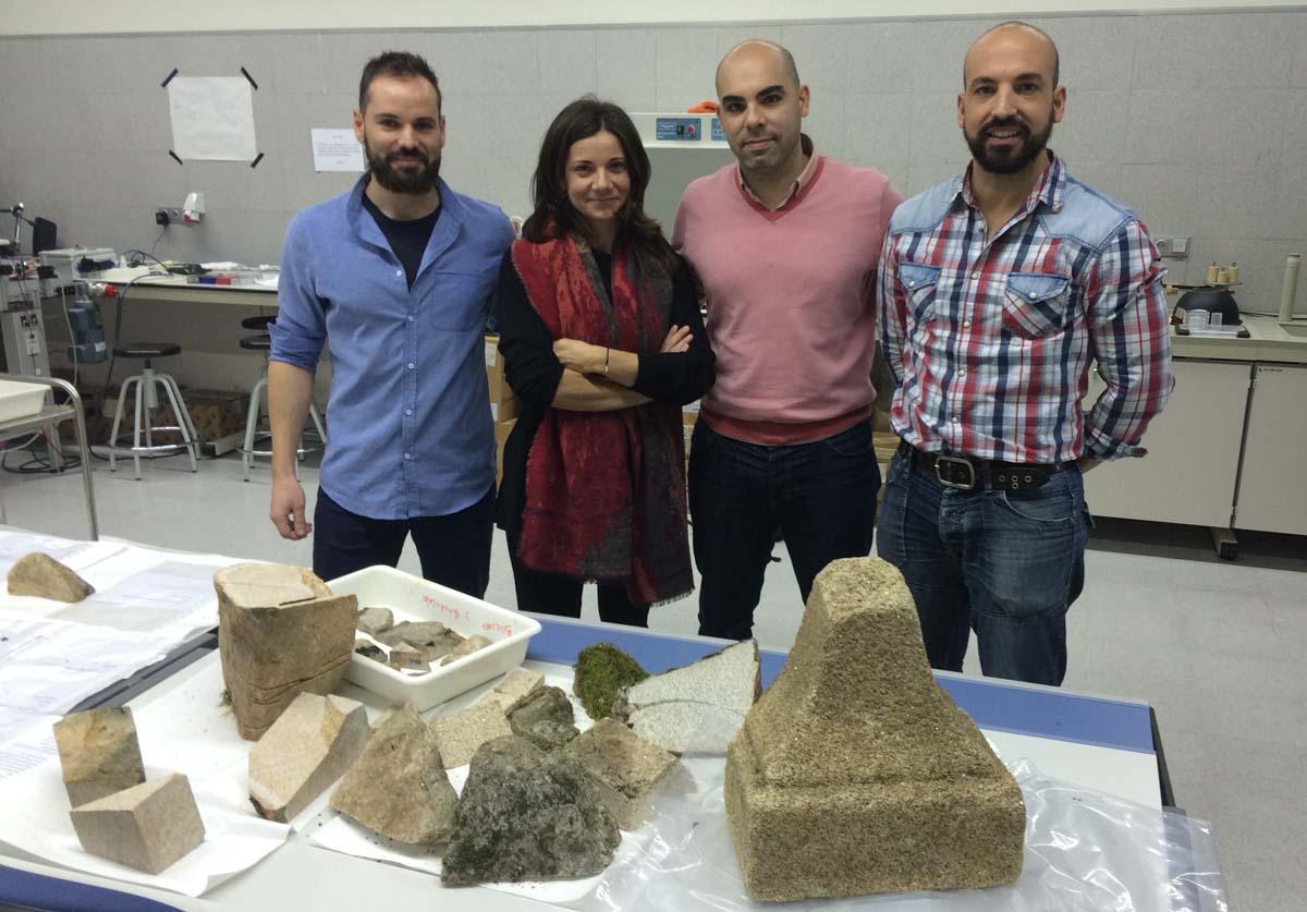 Alianza greco-galega para optimizar o uso do láser na conservación do patrimonio arquitectónico.
