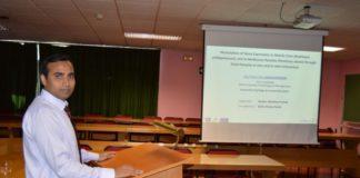 Abul Farah Md. Hasanuzzaman recalou na USC a través do programa Erasmus Mundus.