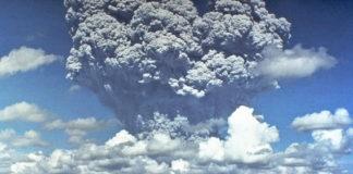 Erupción en 1991 do Pinatubo, en Filipinas, unha das máis violentas do século XX.