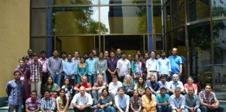 Imaxe dunha escola de investigación do CIMPA.