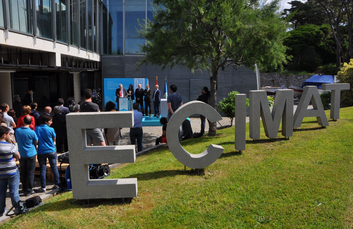 A Ecimat celebra 10 anos de vocación mariña.