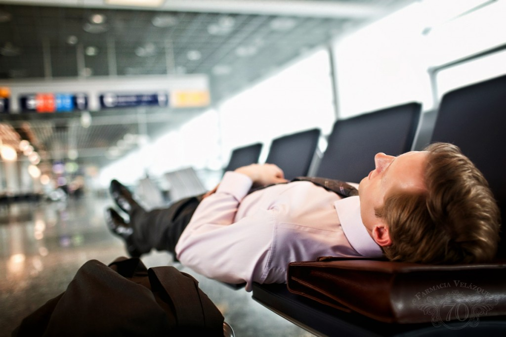 Dosis de melatonina como solución ó jet lag.