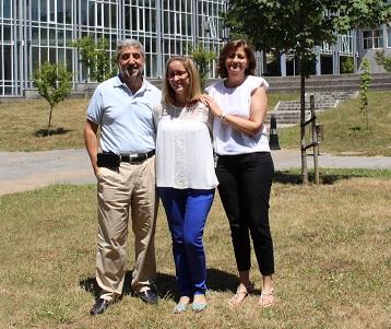 Sonia Blanco, cos seus directores de tese.