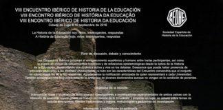 Lugo acollerá ós investigadores españois e lusos do VIII Congreso de Historia da Educación / USC.