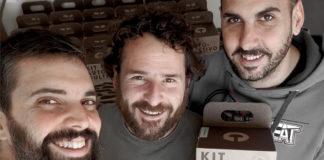 Luis López, Iñaki Mielgo y Cristian Suárez, socios de Resetea.