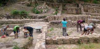 240 estudantes de todas as facultades de Historia de España e Portugal presentáronse á convocatoria para participar nas escavacións.