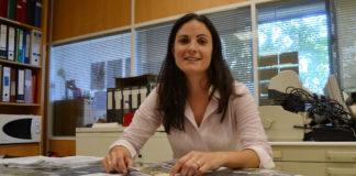 A investigadora da EE Forestal Xana Álvarez /DUVI.