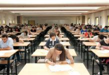 Futuros universitarios galegos nas últimas probas de selectividade.