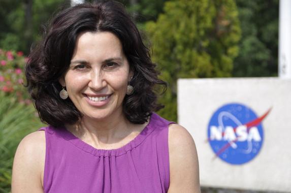 A astrofísica viguesa Begoña Vila. Imaxe: NASA.