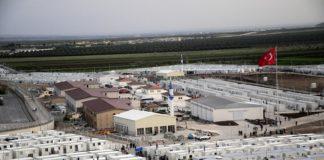 Campo de refuxiados sirios en Turquía.