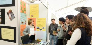Explicación dun dos proxectos participantes en Galiciencia.