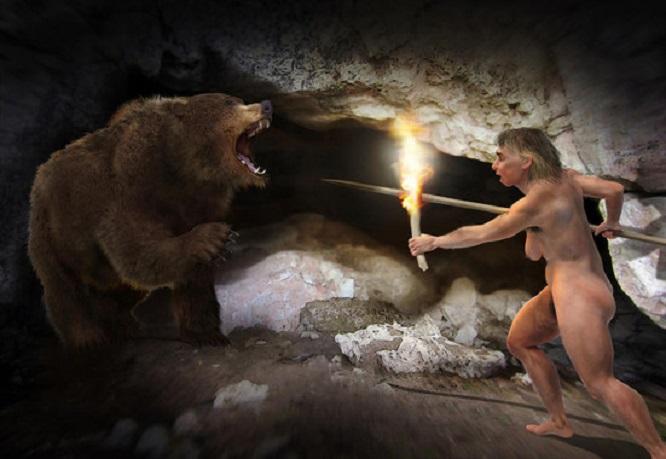 Os osos cavernarios convivían en competencia cos humanos. Os osos cavernarios viviron en competencia cos humanos. José Antonio Peñas (Sinc)