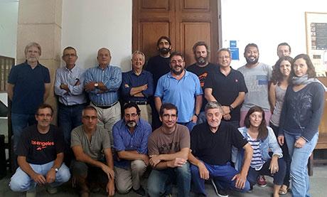 Os científicos do proxecto Clifish, na súa primeira reunión de traballo. Foto: IEO.