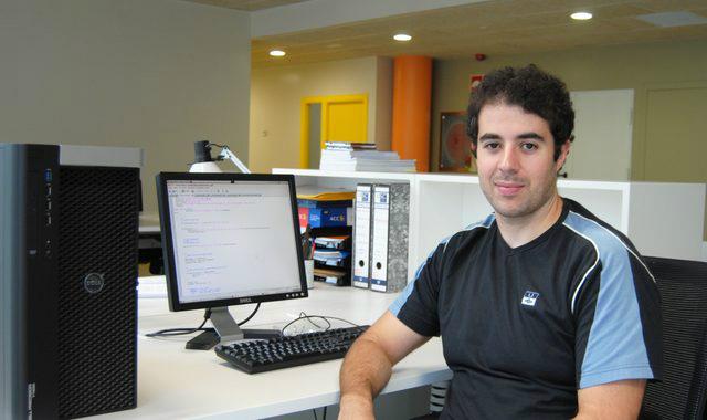 Óscar García, investigador do CiTIUS.