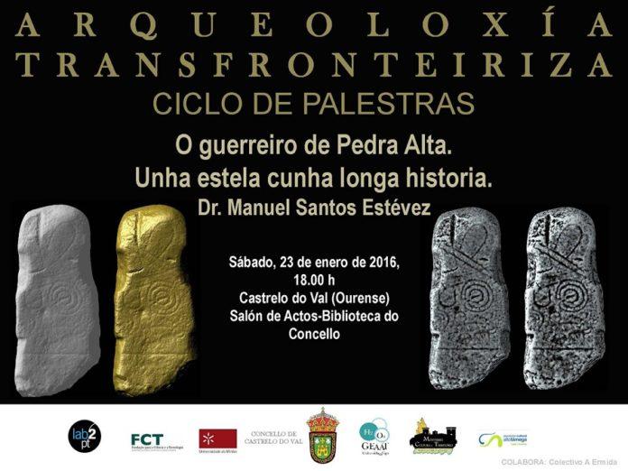 O arqueólogo Manuel Santos Estévez falará sobre a Pedra Alta.